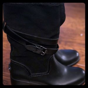 Coach Shoes - Coach Boots - Black Size 9B